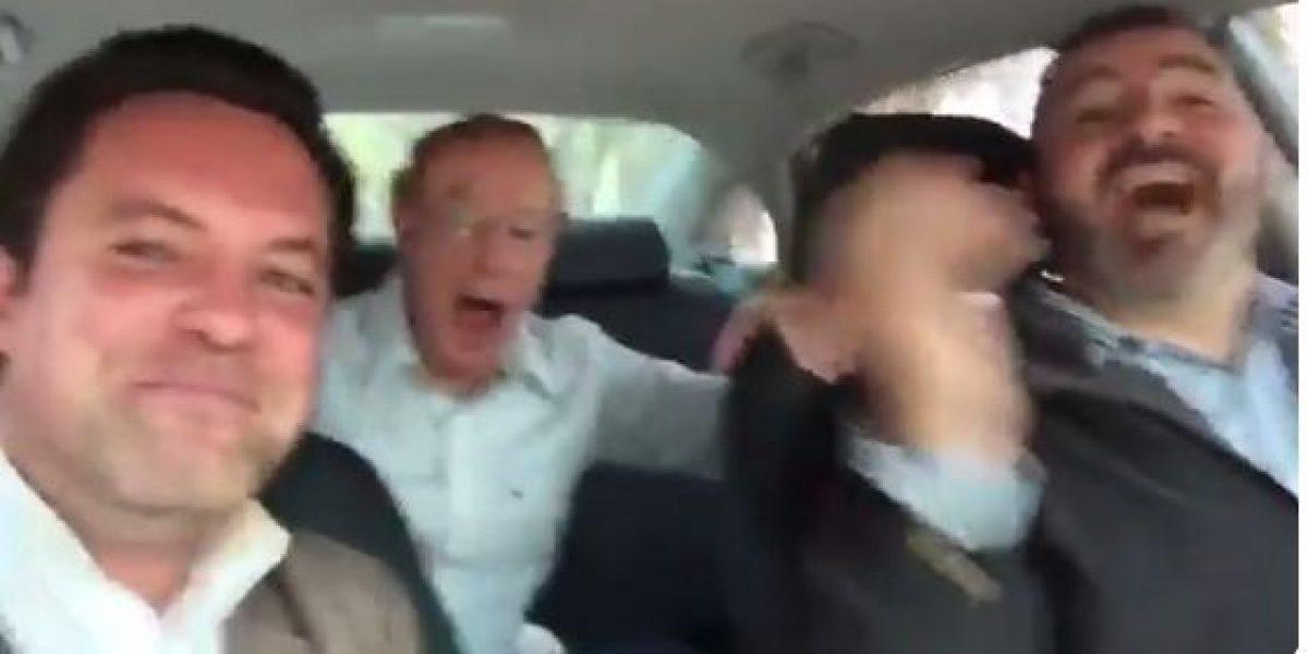 VIDEO: José Ramón Fernández se luce con tremenda serenata