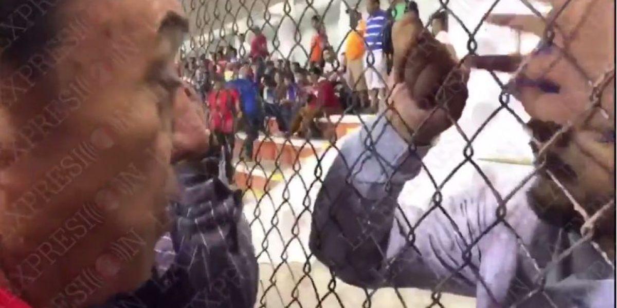 VIDEO: Presidente de Correcaminos y aficionados se encaran tras partido