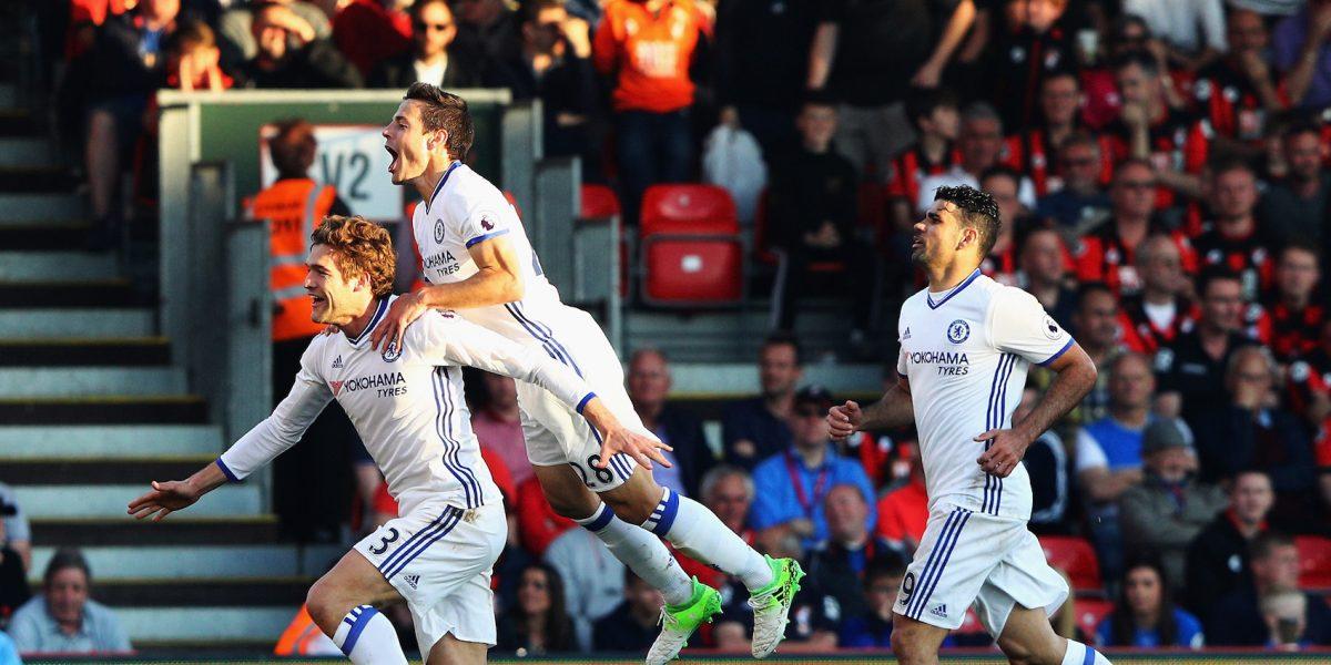Chelsea vence al Bournemouth y acaricia el título en la Premier