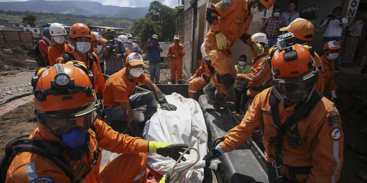 Llega a 314 la cifra de muertos por avalancha en Colombia