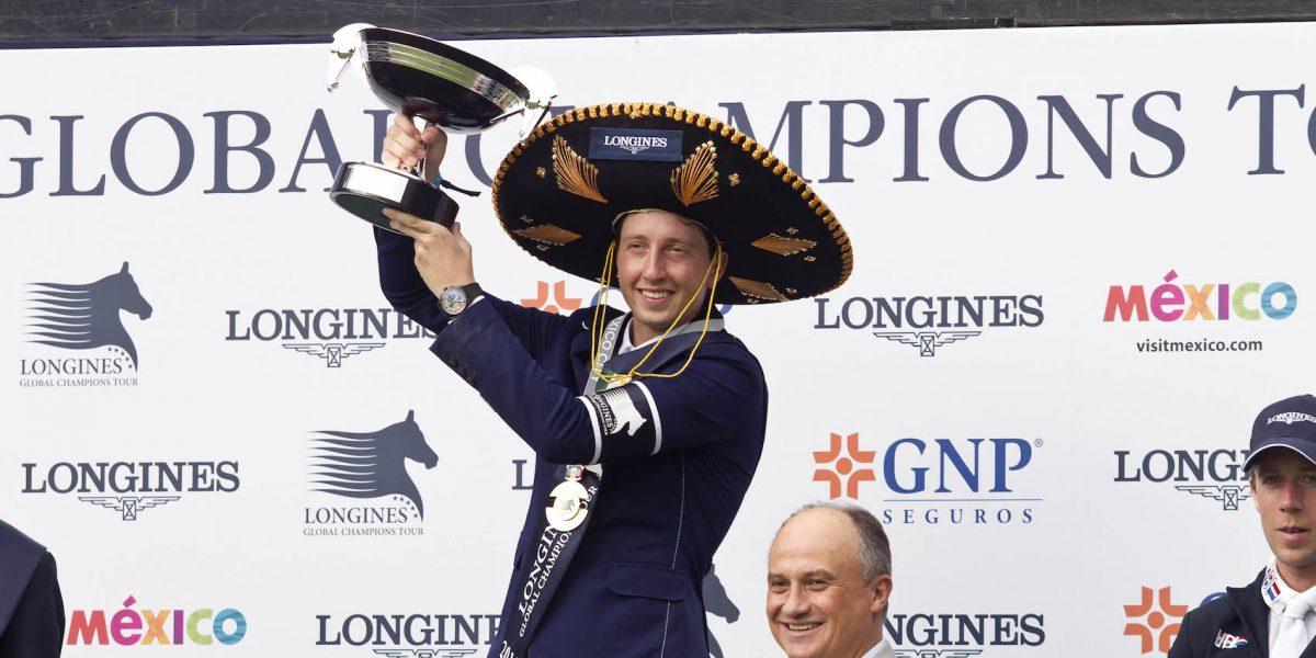 Suizo Martin Fuchs gana el Longines Global Champions Tour