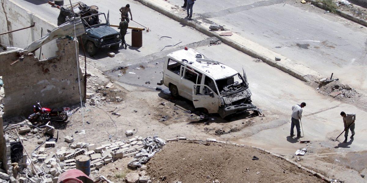 Coche bomba deja un muerto y 25 heridos en Siria