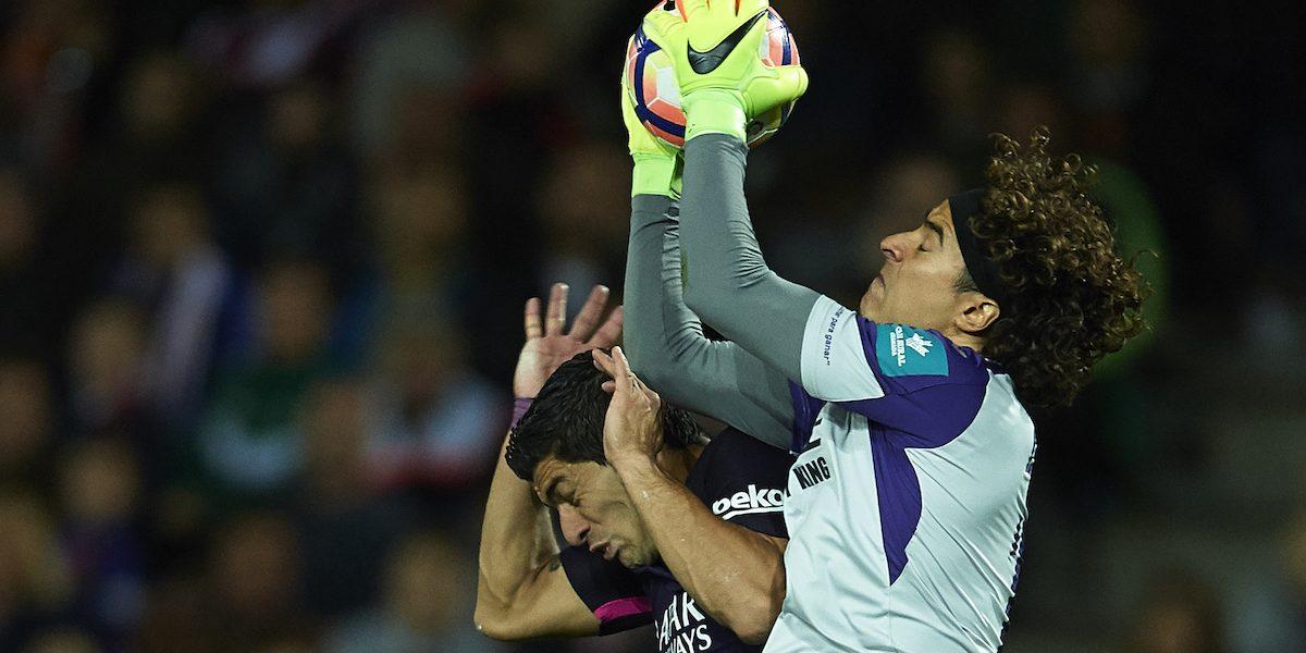 Memo Ochoa, el portero con más salvadas en todo el futbol español