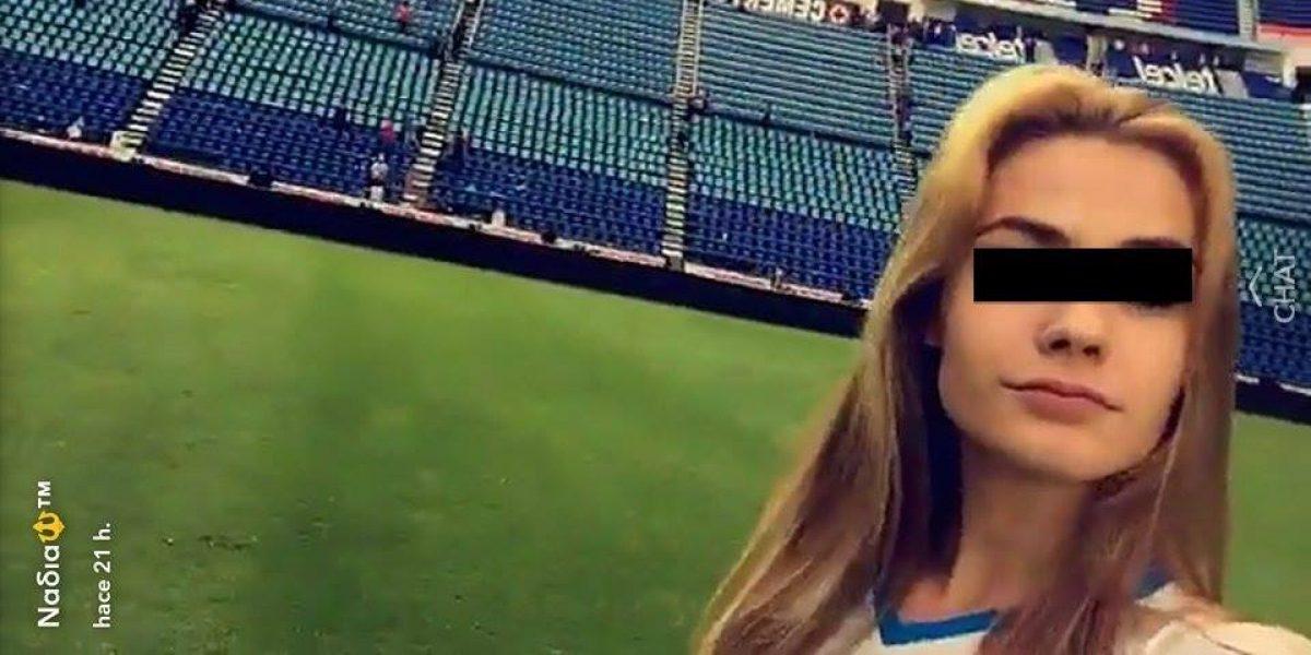Hija de Paco Jémez deslumbró con su belleza en el Estadio Azul