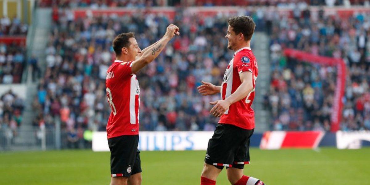 VIDEO: Andrés Guardado marca golazo en la victoria del PSV