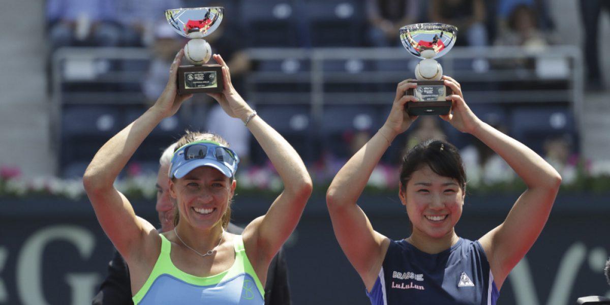 Hibino y Rosoloska, campeonas en dobles del Abierto de Monterrey