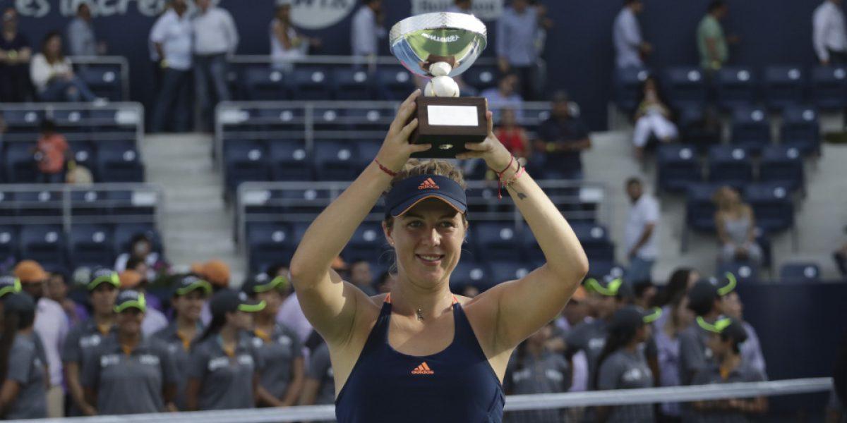 Se corona Pavlyuchenkova por cuarta ocasión en el Abierto de Monterrey