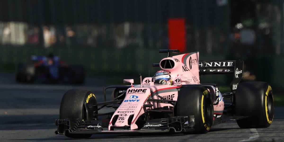 'Checo' Pérez, con un mal día en el GP de China
