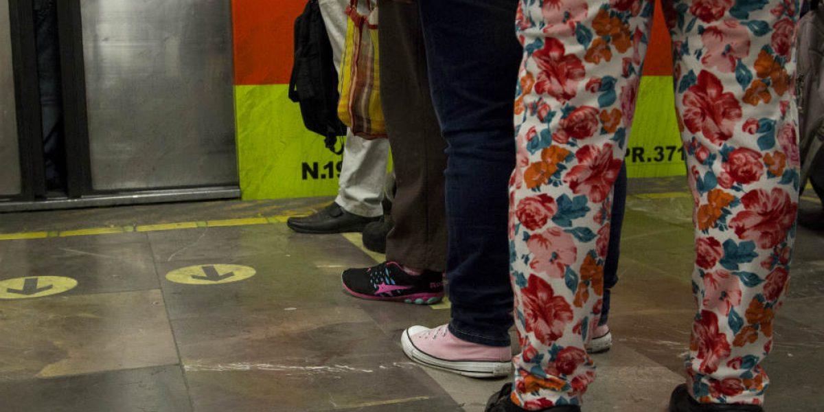 Filas en el Metro ya se hacen en seis estaciones
