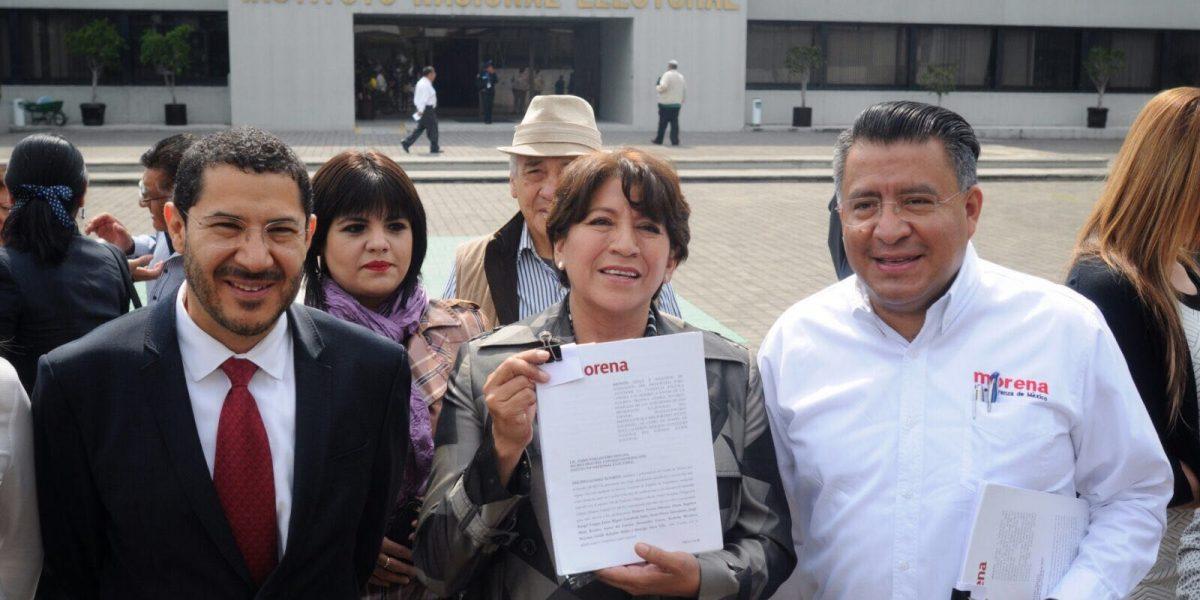 Delfina denuncia a Anaya, Ochoa y Calderón por violencia de género