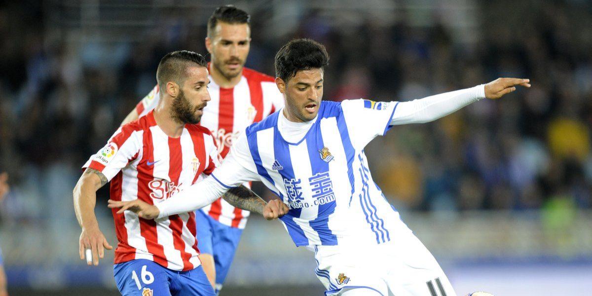 Real Sociedad pone fin a racha sin ganar con Vela en el campo