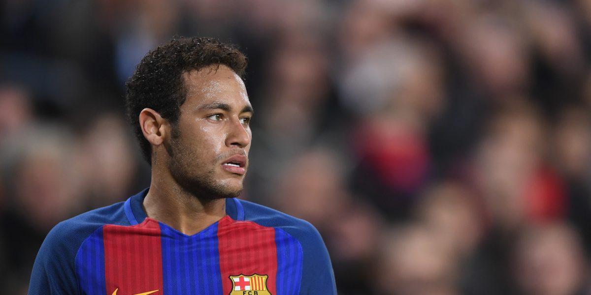 Neymar podría perderse el Clásico Español