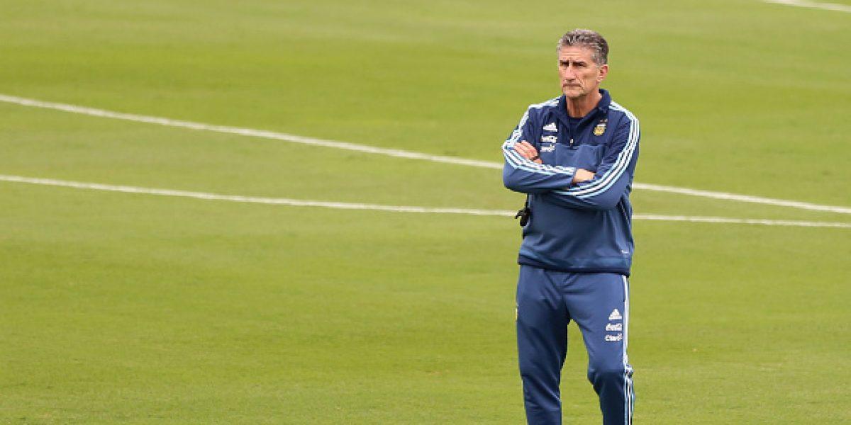 Edgardo Bauza deja de ser el técnico de la Albiceleste