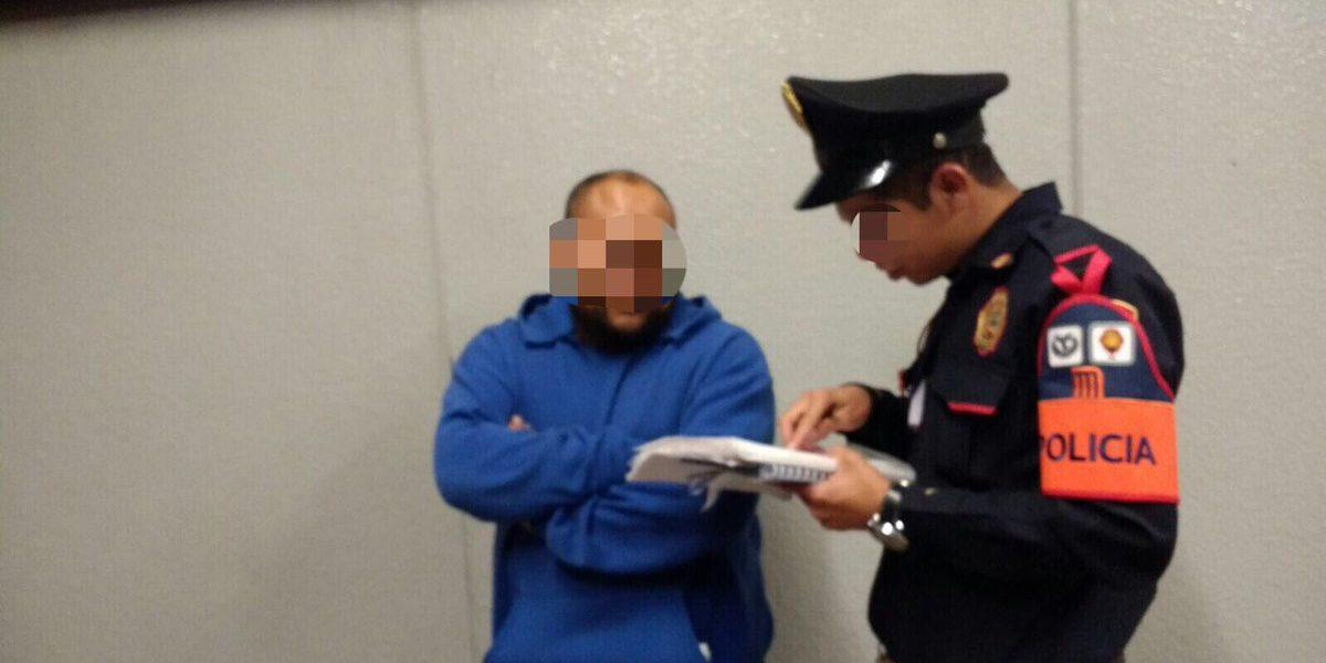 Detienen a hombre que acosaba sexualmente en Metro Cuitláhuac