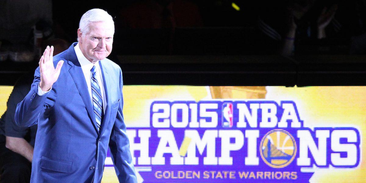 Jerry West ya no quiere que su imagen sea el logotipo de la NBA