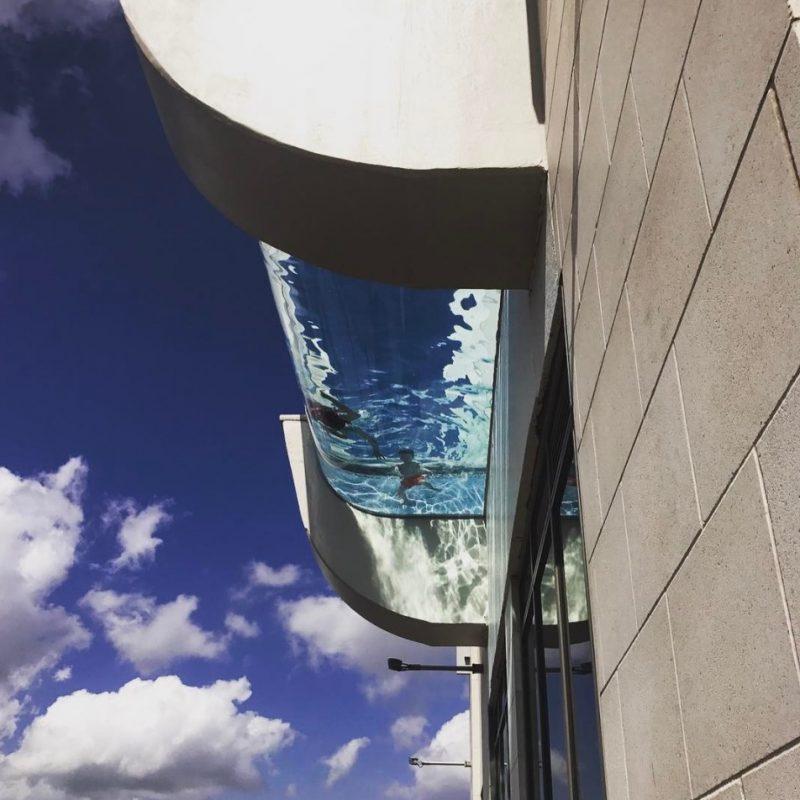 Piscina de altura. Imagen Por: Vía instagram.com/marketsquaretower
