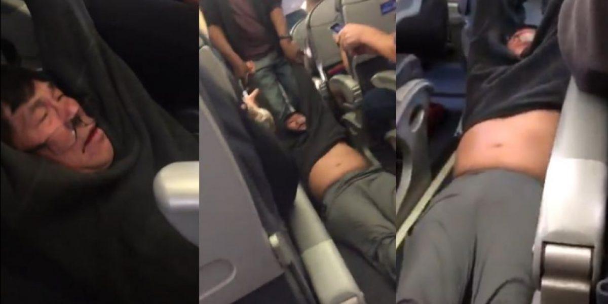 United Airlines se disculpa por expulsión violenta de pasajero