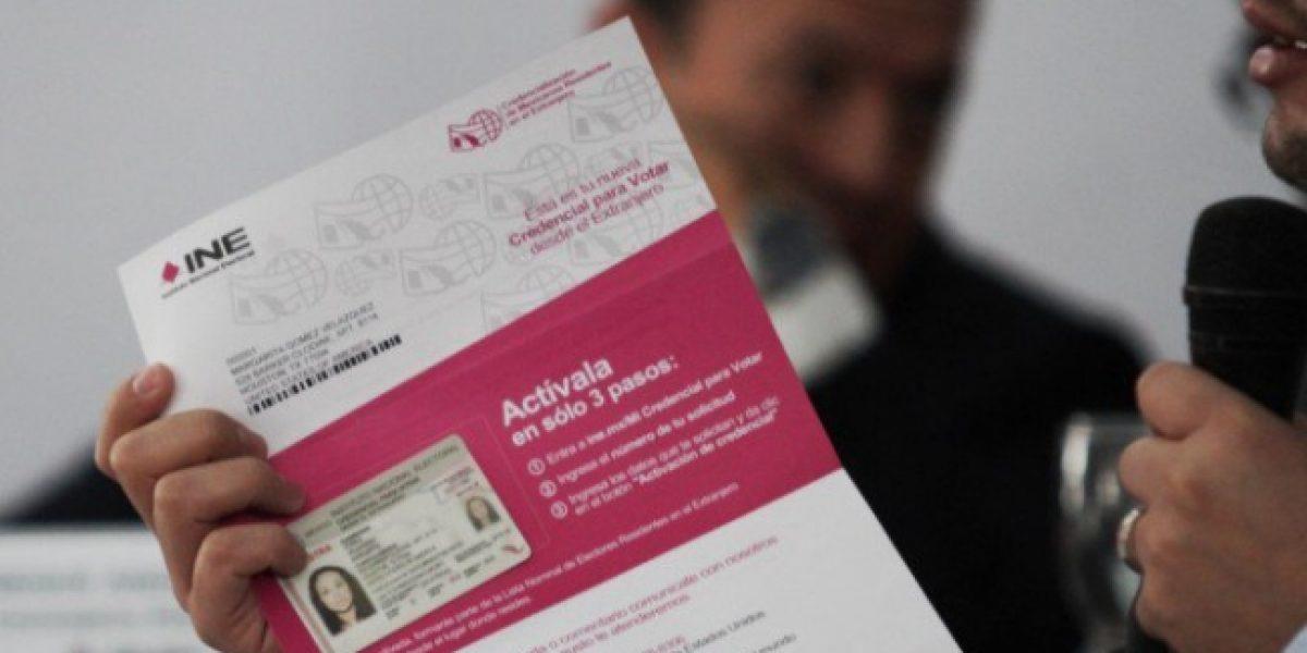 Dos millones de mexicanos que viven en EU podrán tramitar credencial para votar con matrícula consular