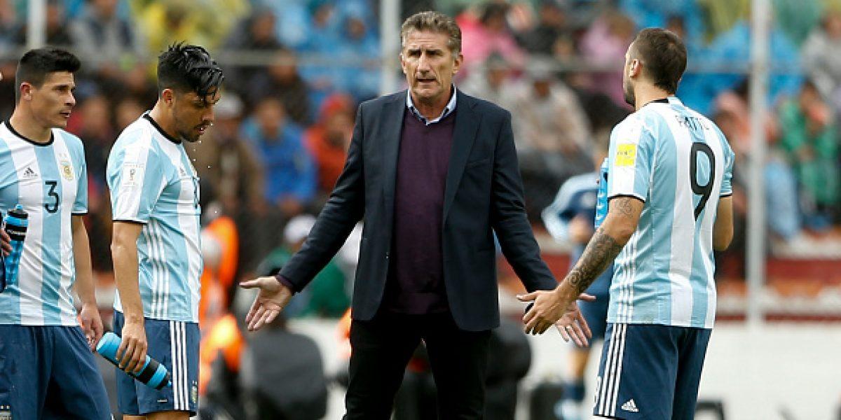 Bauza elogia a los jugadores en su despedida de la Albiceleste
