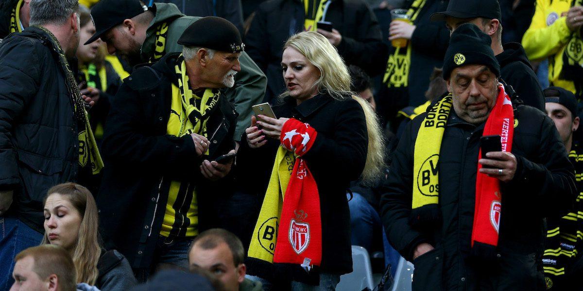 Suspenden partido Borussia Dortmund vs. Mónaco de Champions League