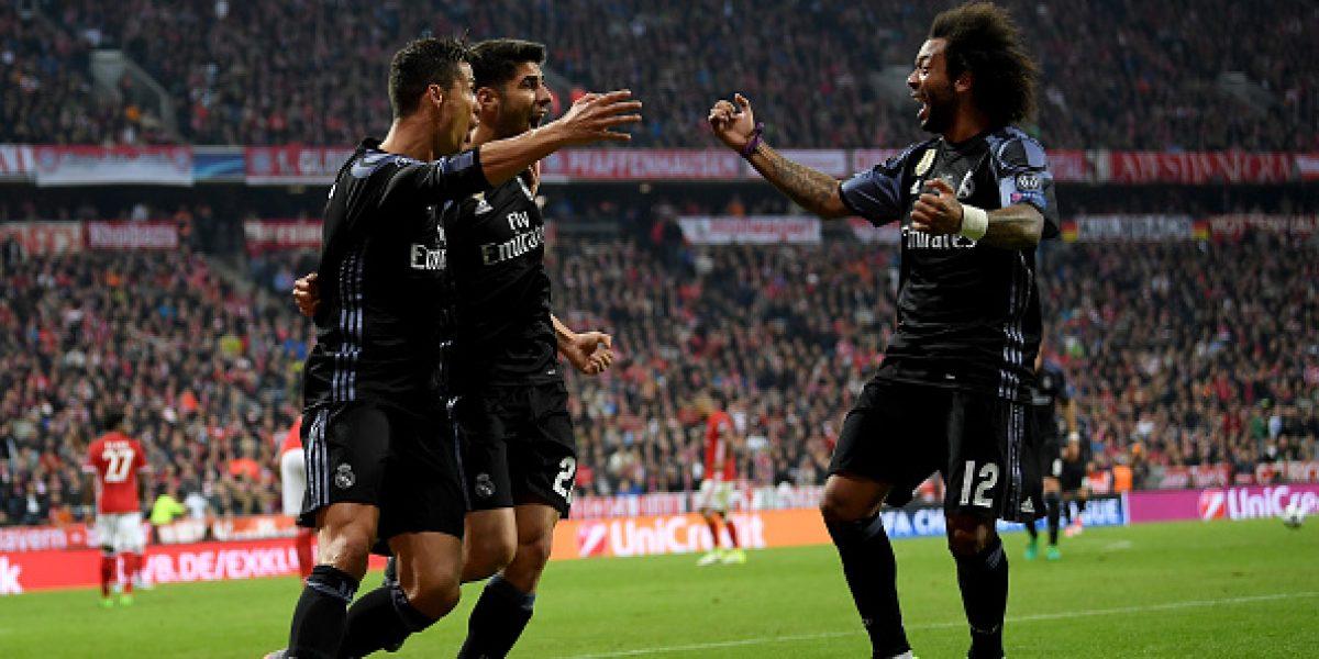 Cristiano comanda el triunfo Merengue ante el Bayern