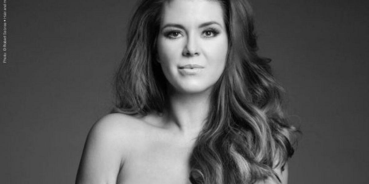 FOTO: Alicia Machado se desnuda por una buena causa