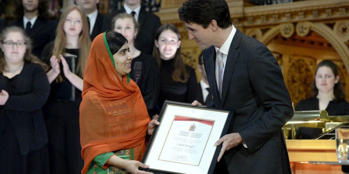 Canadá otorga Ciudadanía Honoraria a Malala