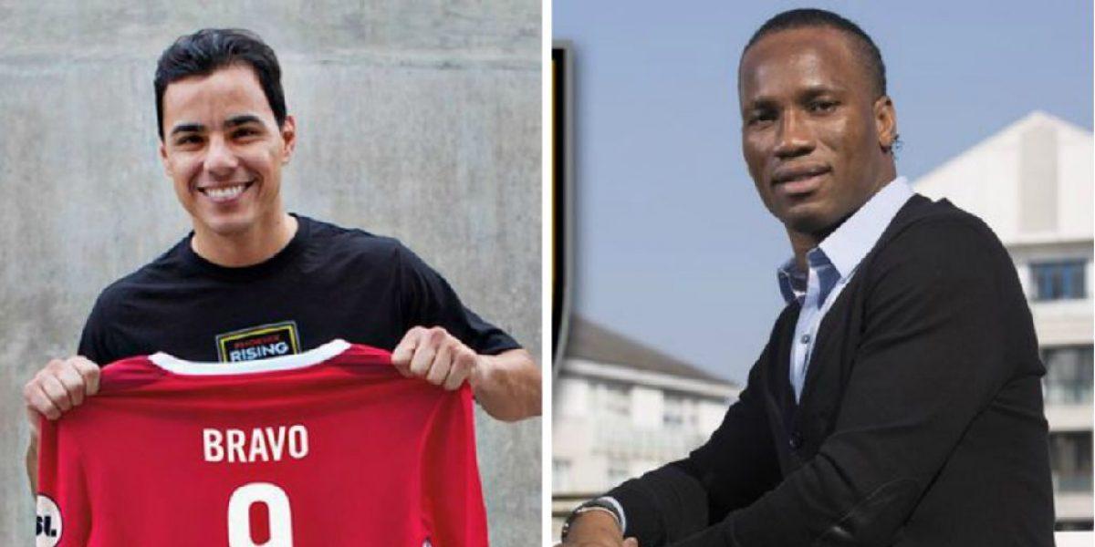 Didier Drogba y Omar Bravo serán compañeros y jugarán en EU