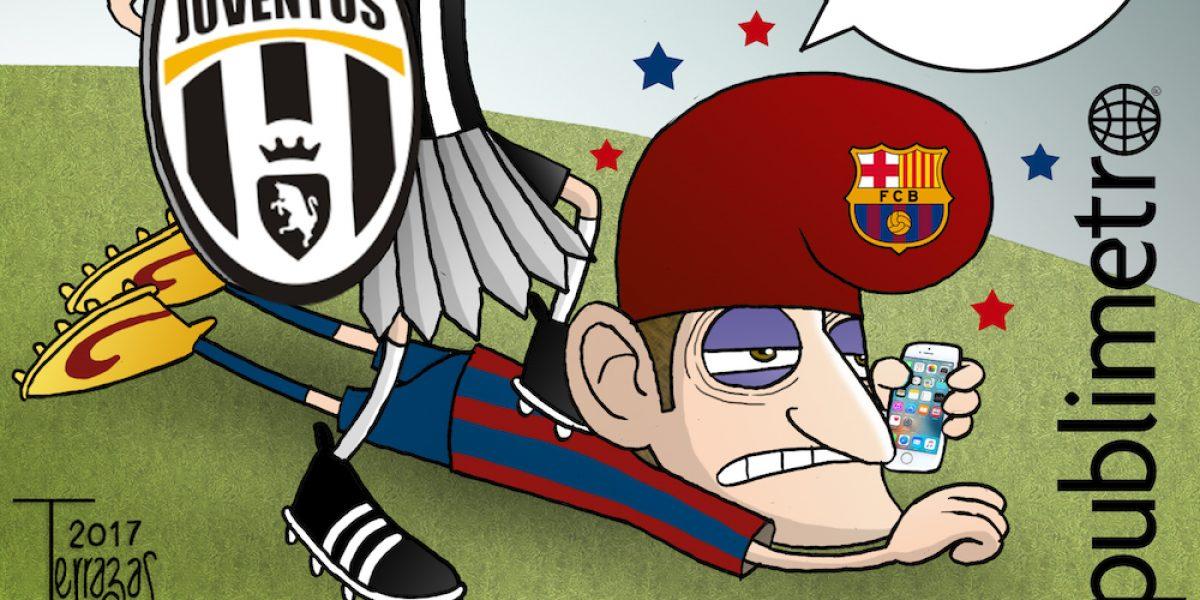 """¿Barcelona necesita una """"ayudadita""""? El cartón del día"""