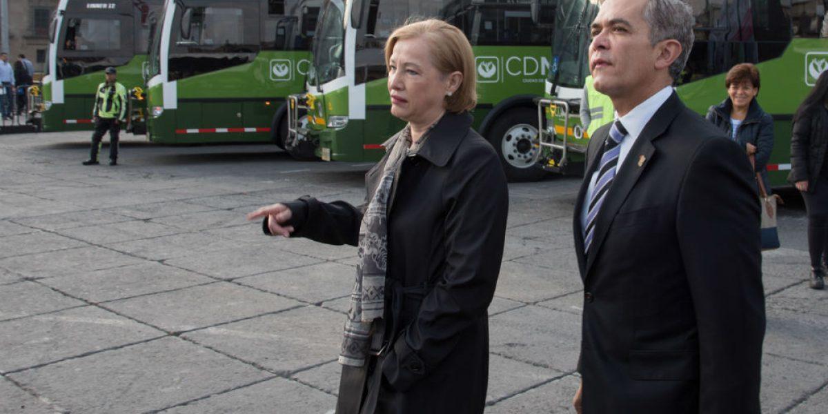 Mancera rechaza aumento a tarifas de transporte público