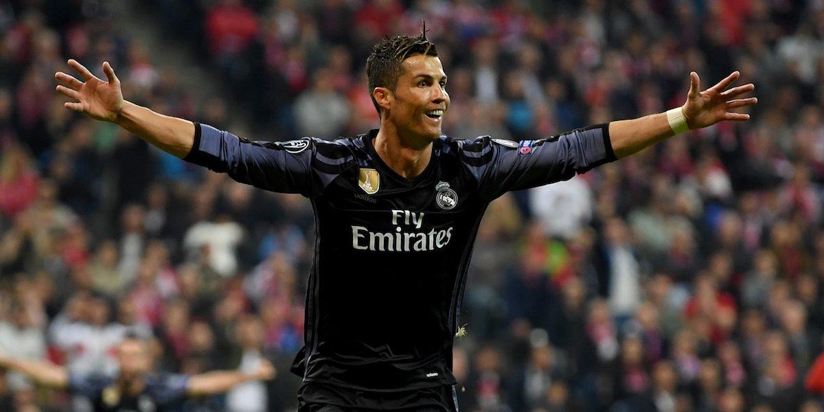 Cristiano llega a los 100 goles en torneos europeos