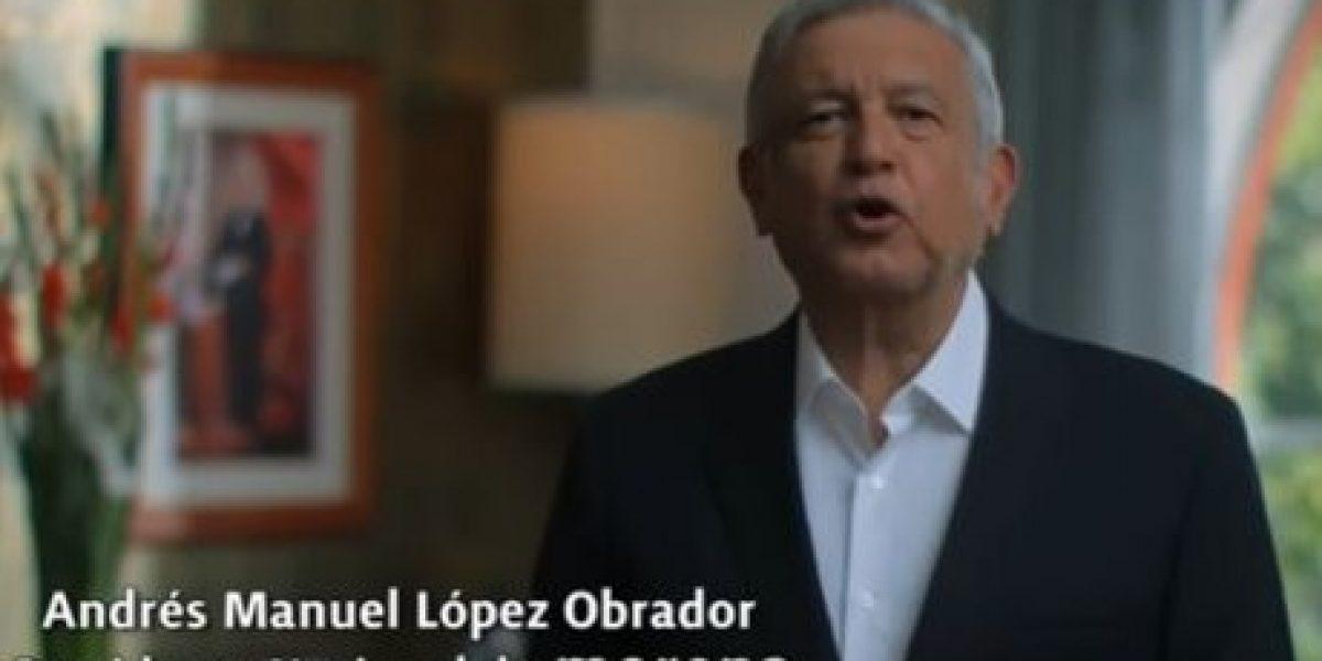 TEPJF ordena bajar spot de AMLO sobre elecciones en el Edomex