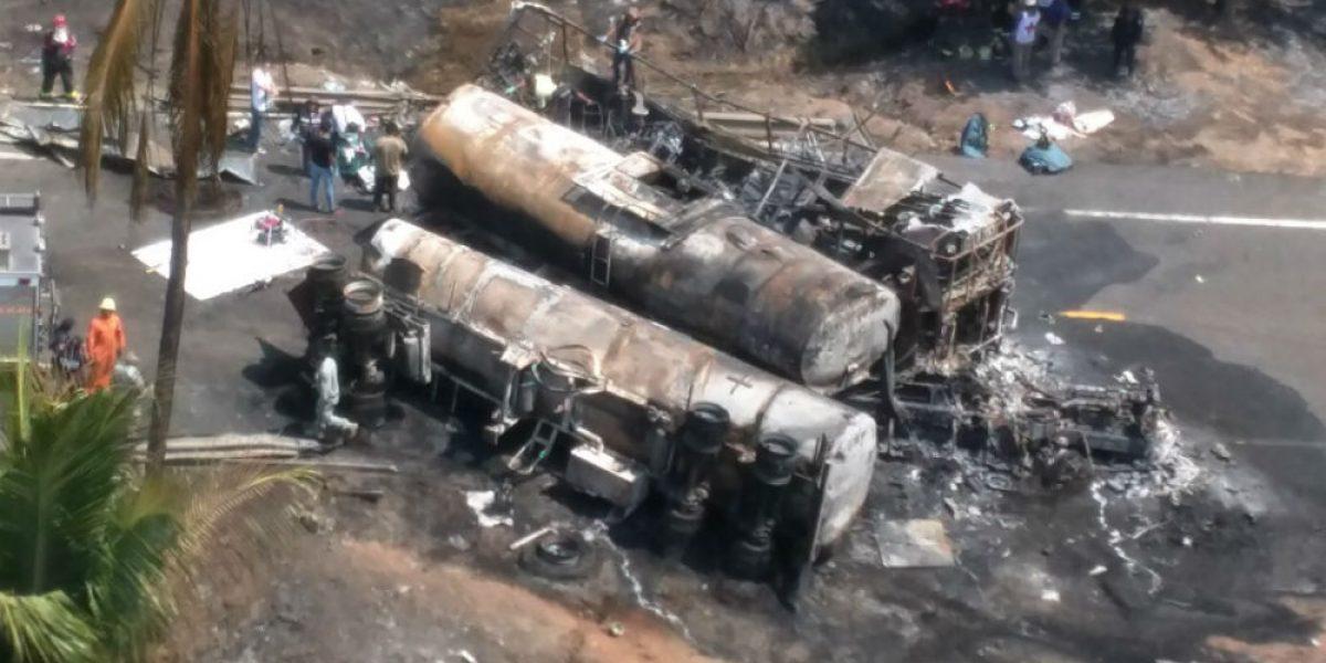 Chofer de autobús, posible culpable de choque en la autopista Siglo XXI