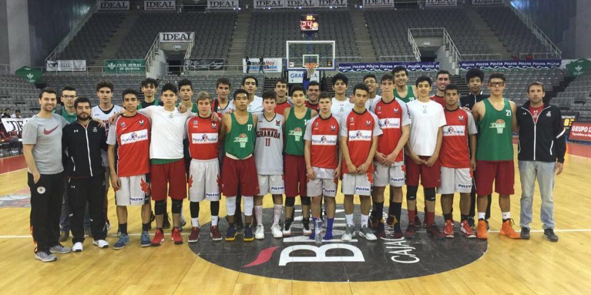 Equipos mexicanos de basquetbol se coronan en España