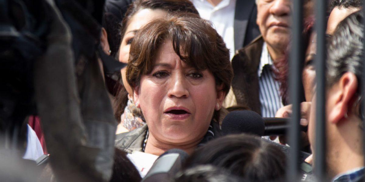 """Narcomensajes"" en Feria del Caballo es guerra sucia: Delfina Gómez"
