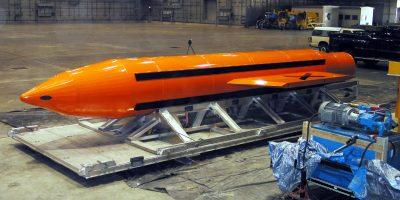 Foto de archivo: La bomba MOAB. Imagen Por: Getty Images
