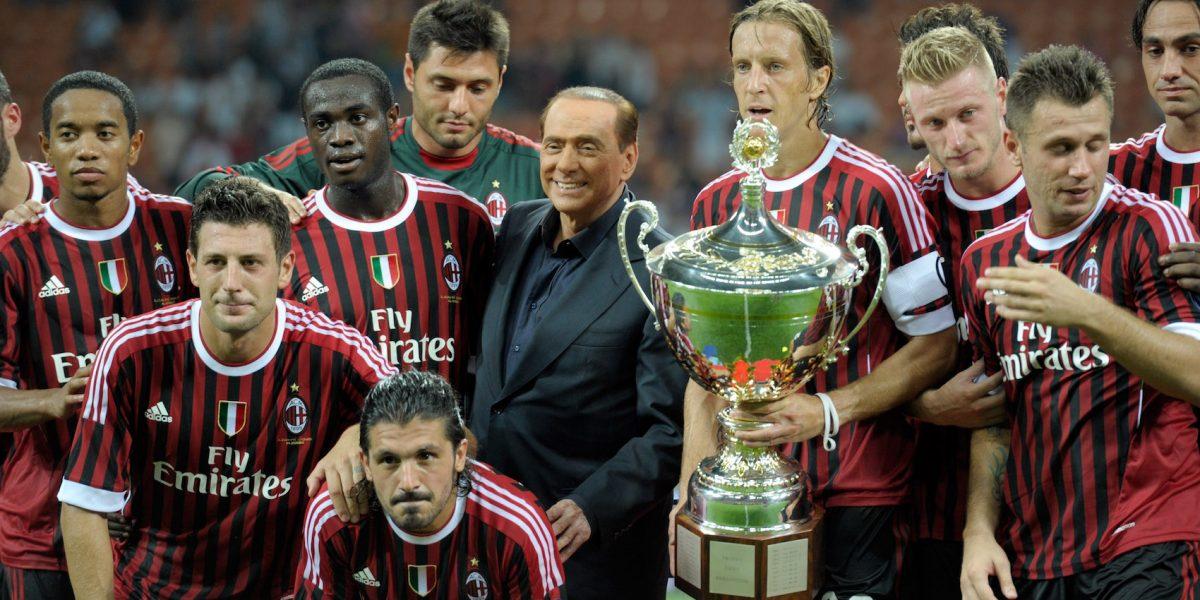 ¡Último momento! Silvio Berlusconi vende al Milan