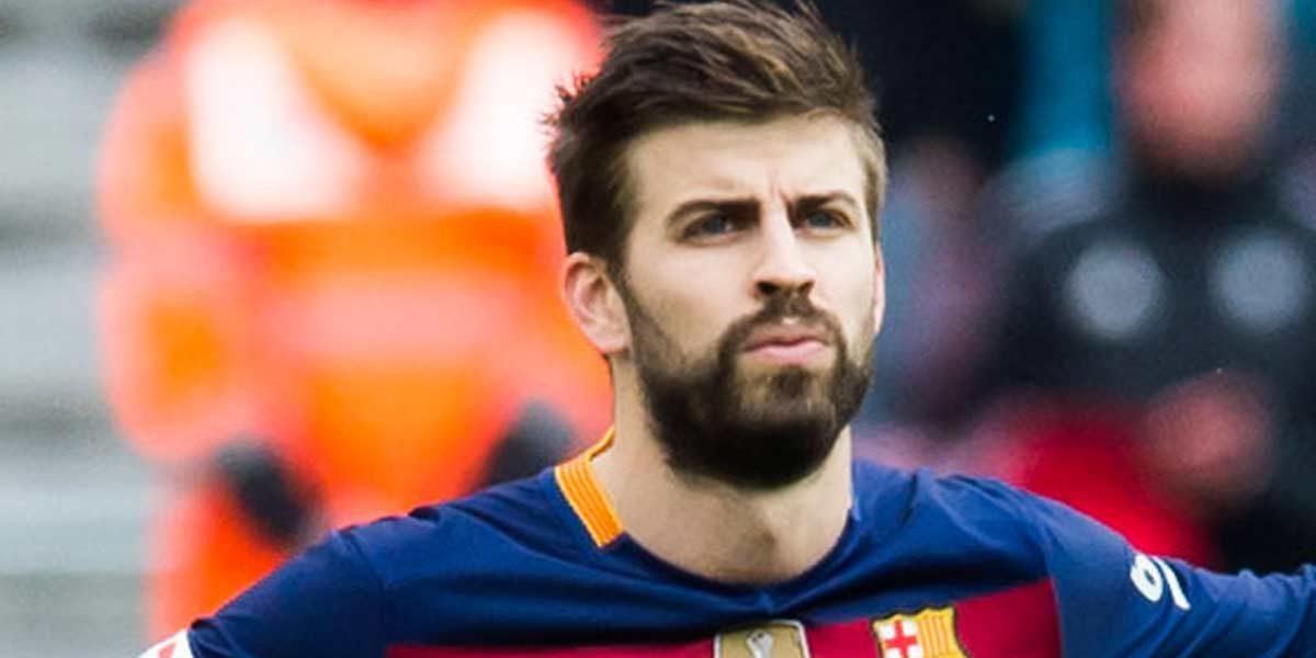 Niño del Barça 'niega' saludo de Gerard Piqué