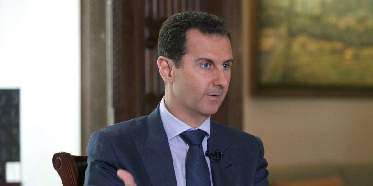 """Presidente de Siria afirma que el ataque químico es """"100% un invento"""""""