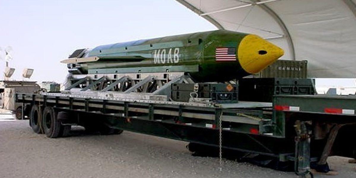 """MOAB: así es """"la madre de todas las bombas"""""""