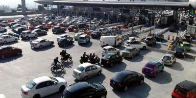 Autopista México-Puebla, la de mayor aforo vehicular este domingo