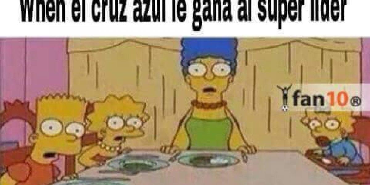 Cruz Azul vence al líder Toluca y los memes no lo olvidan