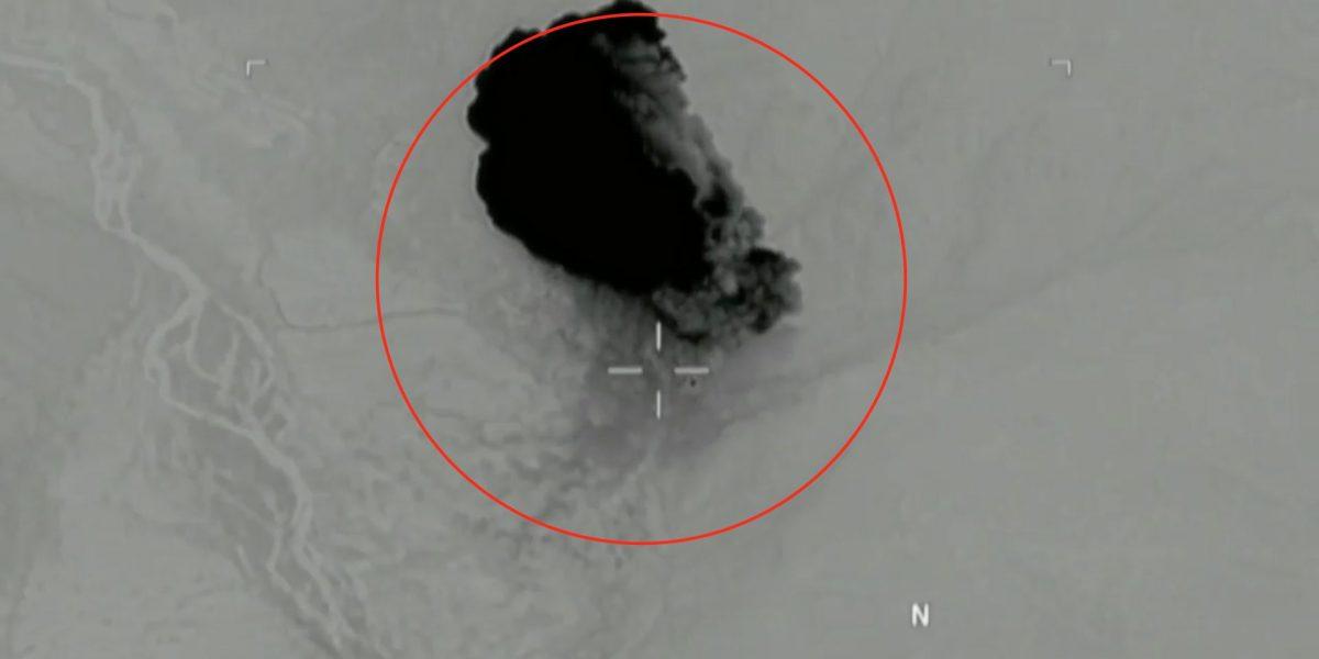 Pentágono revela momento exacto de ataque con bomba MOAB en Afganistán