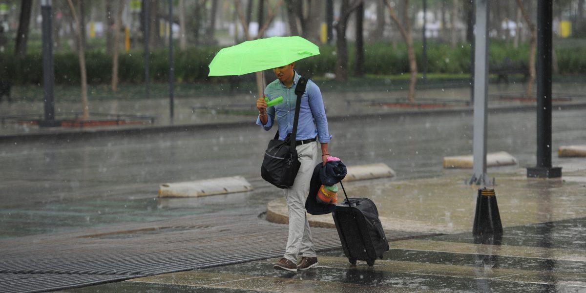 Clima: Pronostican 60% de probabilidad de lluvia en el Valle de México