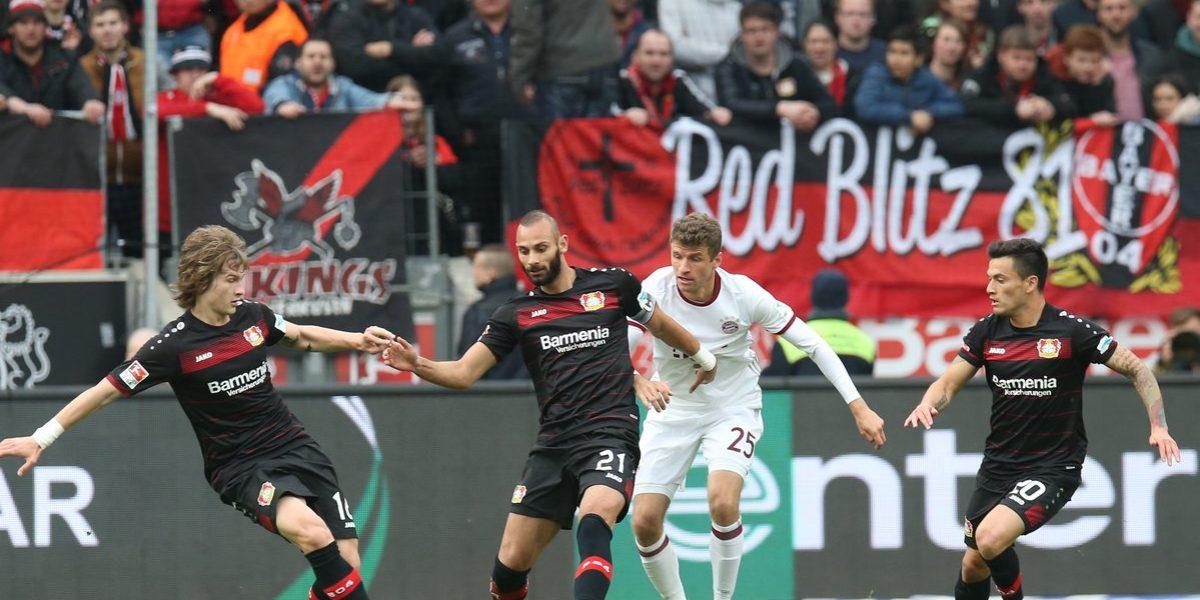 Bayer Leverkusen hace sufrir al Bayern Munich con empate sin goles