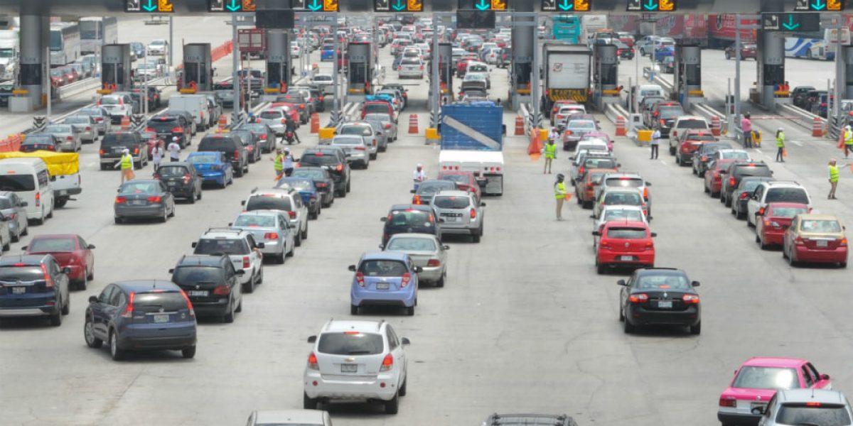 Aumenta carga vehicular en la México–Cuernavaca