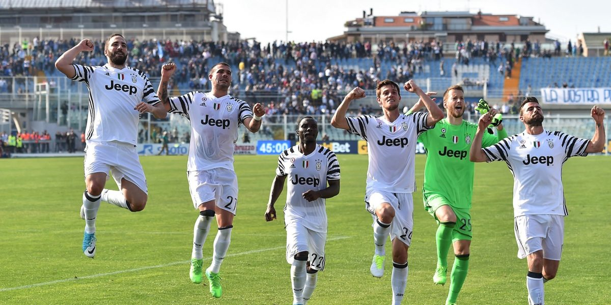 Juventus vence al Pescara y se acerca al Scudetto
