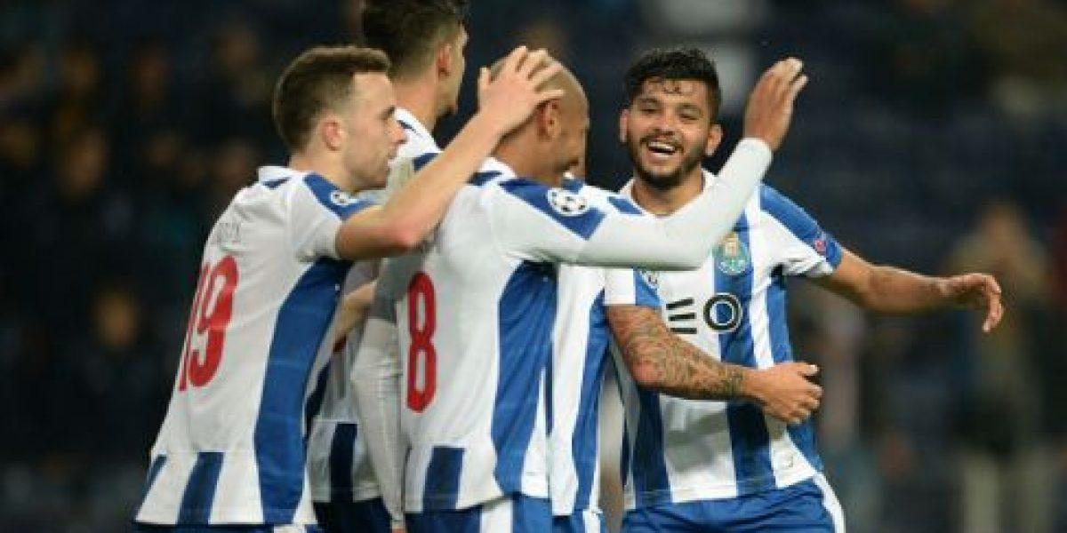 """Porto y """"Tecatito"""" se alejan de la cima en la liga de Portugal"""