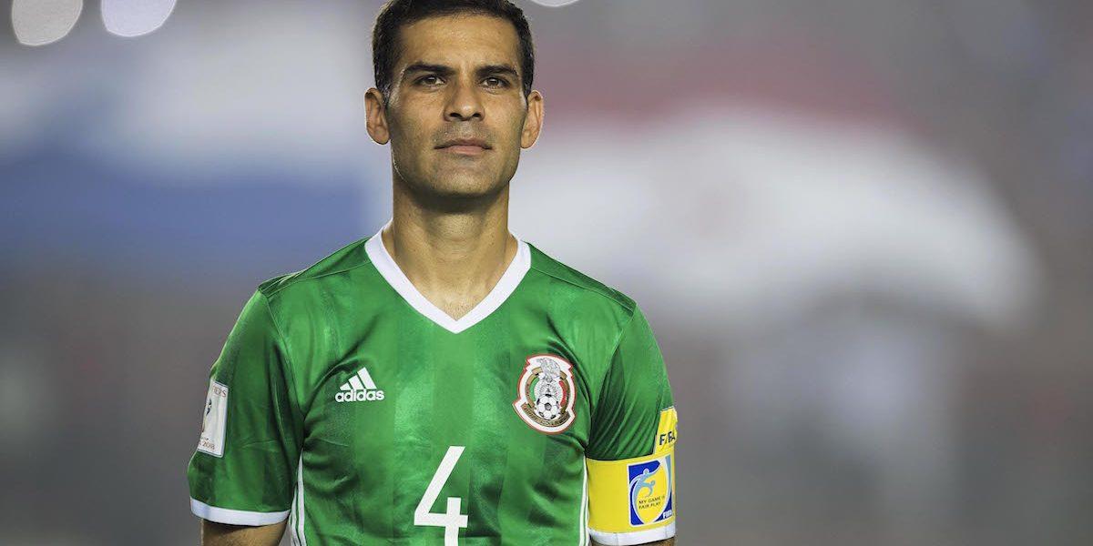 ¡Rafael Márquez se perderá la Copa Confederaciones!