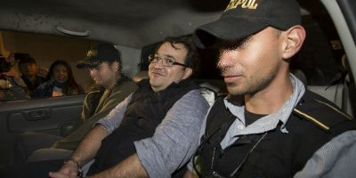 Javier Duarte vivía en un apartamento en la Antigua Guatemala